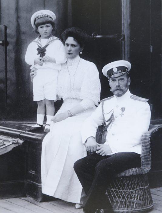 Штандарт царь царица царевич